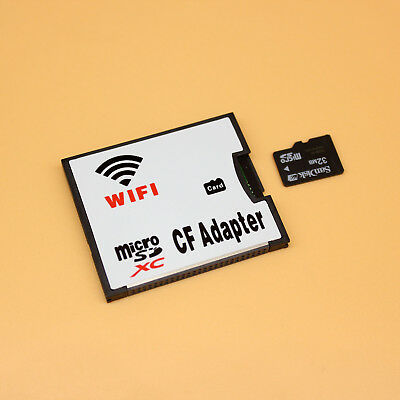 TF MicroSD Card to Wifi Wireless CF Card Type I Adapter, TF to Wifi CompactFlash