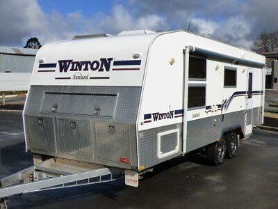Caravan Sunland Winton 24ft 2011 Full Off Road Top of the Line AC Full Ensuite !