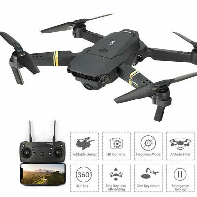 Drone X Pro 2.4G Selfi WIFI FPV With HD Camera Foldable Arm RC Quadcopter RTF AU