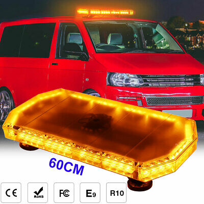 Britalitez 6x3W LED Van 2 X Vehicle Warning Lights AMBER WHITE Strobe Lamp