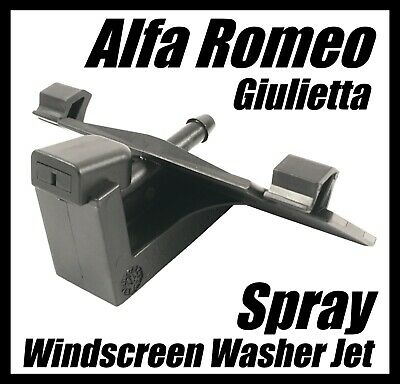 Windscreen Washer Jet for Alfa Romeo Giulietta Fiat Lancia Spray Clip 156090541
