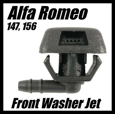 Washer Jet Spray Nozzle for Alfa Romeo 147 156 GT Front Windscreen Water 7767818