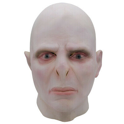 Harry Potter Lord Voldemort Cosplay Beige Latex Maske Karneval Fasching Party