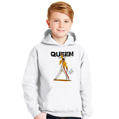 Freddie Mercury Hoodie For Children Kids Outfit Queen Band Hooded Pullover