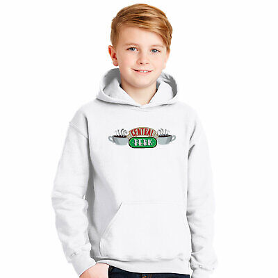 Central Perk Hoodie Kids Outfit Friends TV Show Hooded Sweater Kids Pullover
