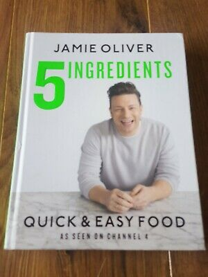 5 Ingredients - Quick & Easy Food by Jamie Oliver (Hardback, 2017)
