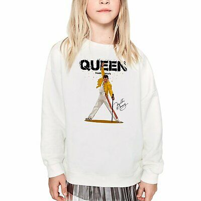 Freddie Mercury Kids Sweatshirt The Queen Sweater Printed Pullover Kids Sweater