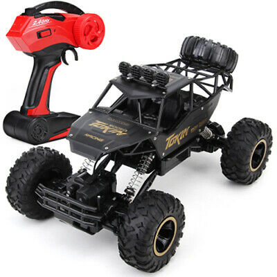 1/12 RC Car 4WD Remote Control Vehicle 2.4Ghz Electric Monster Buggy Off-Road