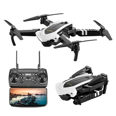 2019 2.4G 1080P Foldable RC Drone HD Camera Selfie WIFI FPV Follow Me Quadcopter