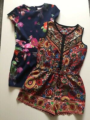 Ted Baker River Island Girls Playsuit Size 9-10 Yrs Excellent Condition