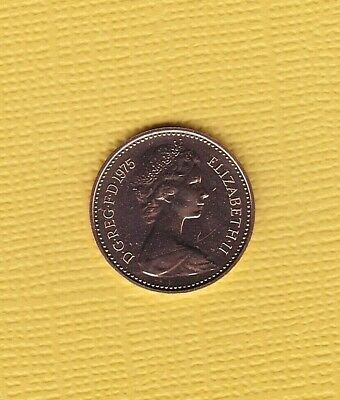 1975 PROOF 1/2p Half New Pence Coin  - From Royal Mint Set (Free P&P)