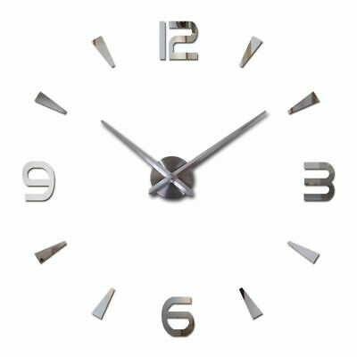 Wall Clock Quartz Watch Modern Design Large Decorative Clocks Acrylic Stickers
