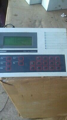 Jenway type 3045 Ion Analyser