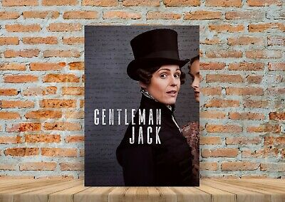 Gentleman Jack TV Show Poster Canvas Art Print (Framed Option) - A3 A4