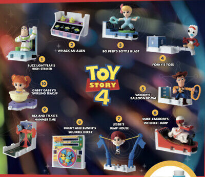 Toy Story 4 McDonald's Happy Meal Toys Pick Your Toy!