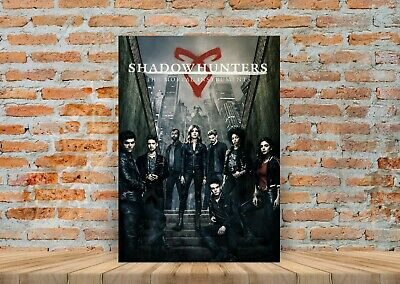 Shadowhunters TV Show Poster Canvas Art Print (Framed Option) - A3 A4