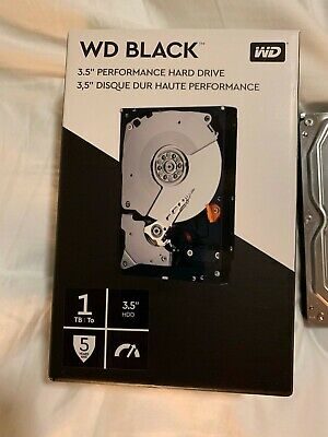 WD Black 1TB Performance Desktop Hard Disk Drive - 7200 RPM SATA WD1003FZEX