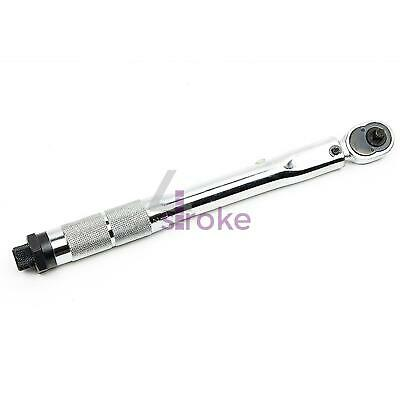 """1/4"""" drive click torque wrench 5 - 25Nm / 4 - 18 ft/lbs"""