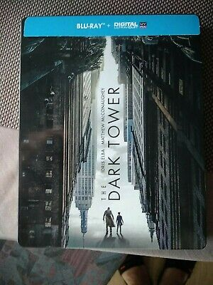 Blu Ray steelbook métal the dark tower. La tour sombre av code digital