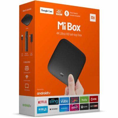 NEW Xiaomi Mi Box S Streaming Media Player Home 4K HDR Android TV Google