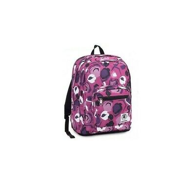INVICTA school backpack format plus girl pink pattern