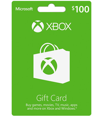 $100 Xbox Gift Card -- Delivered by Email