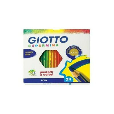 GIOTTO 5 pack of 24 Supermina Pencil