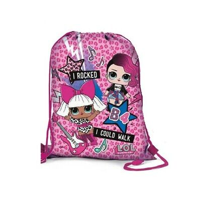 LOL SURPRISE children's flat backpack assorted colours