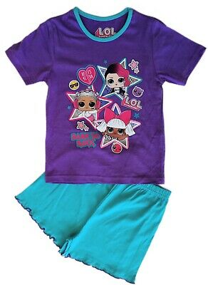 Official Girls Children's LOL Surprise Dolls Shorts Pyjamas Pajamas 5 6 8 10