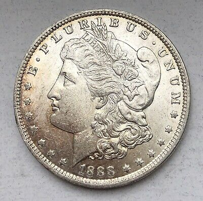 1888-O Morgan Silver Dollar $1 BU