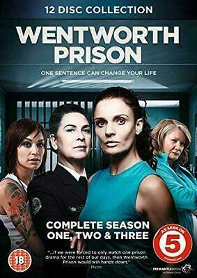 WENTWORTH PRISON the complete season series 1 2 & 3. 12 discs. New sealed DVD.