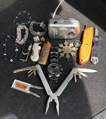 Interesting Junk Drawer Lot of miscellaneous vintage items