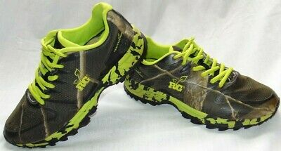 f72bbc255030c WOMENS RG REALTREE GIRL Mamba Camo & Neon Hiking Shoes Sneakers Sz 8 ...