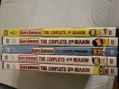 Bob's Burgers TV Series Complete Season 1-5 (1 2 3 4 5)13-DISC DVD NEW