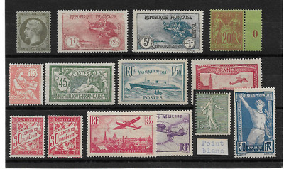 France Lot 14 Timbres Neuf * Top Affaire !!!!!!!!!!!!!!!!!!!!!!!!!!!!!!!!!!!