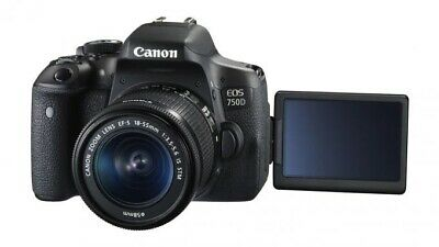 Canon EOS 750D 24.2MP Digital SLR Camera (Kit with 18-55mm Lens) With Canon Bag