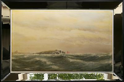 Andrew Craig Rutter (1912-2000) - Original Seascape Oil Painting - Outer Isles
