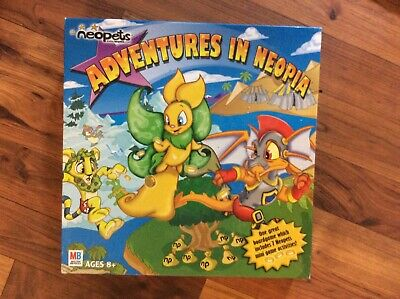NEOPETS ADVENTURES IN Neopia Board Game REPLACEMENT PARTS