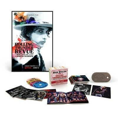 Bob Dylan Rolling Thunder Revue 14CD Ultimate Bundle Box w/Poster & Luggage Tag