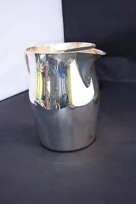 "VINTAGE Academy Silver on Copper Pitcher Vintage 1950's  7"" TALL VG+"