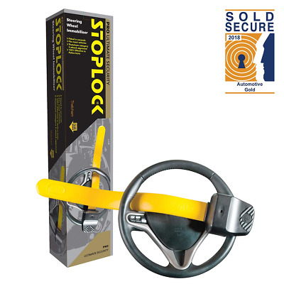 Stoplock 'Professional' - Steering Wheel Lock For Cars - Secure Anti-Theft