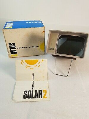 Solar 2 Colour Viewer Boxed With Instructions
