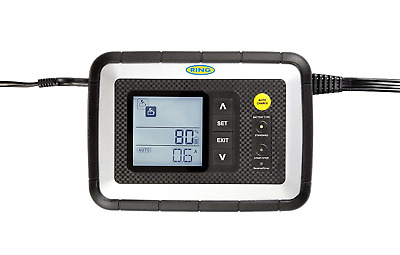 Ring RSC608 8A Smart Battery Charger, 12V Vehicles to 3.0L, All Battery Types, 7