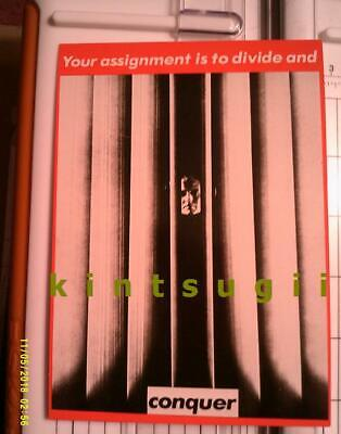 Barbara KRUGER Your assignment, divide conquer vtg 1981 rights Moma Pop Art New