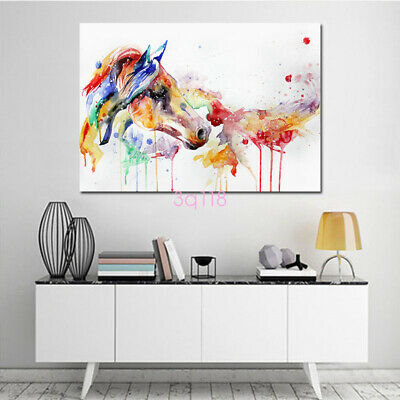 Abstract Oil Animal Painting Canvas Painted Poster Wall Art Picture Home Decor