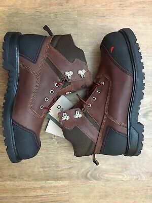 df1ec7822a8 NEW RED WING Brown Leather Steel Toe # 2233 Work Boots Mens Size 13 ...