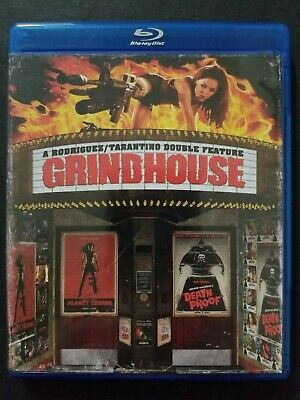 Grindhouse Planet Terror Death Proof (Blu-ray 2-Disc Set, 2007, Special Edition)