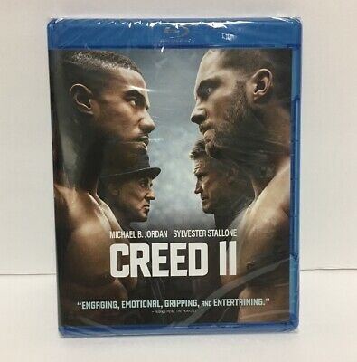 Creed II (Blu-Ray/DVD,2018) WITHOUT SLIPCOVER FAST SHIPPING!