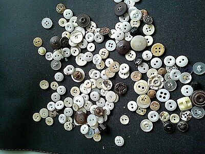 QUANTITY of VINTAGE TINY BUTTONS