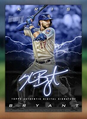 Topps Bunt Digital 2019 Charged Up Sig. 5 Cards Set. Ready For Damon Sig. Award